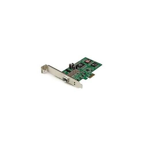 Startech - Pex1000sfp2 Pcie Gbe Fiber Card With Opennsfp Pci Express Sfp Fiber Adapter