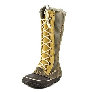 Sorel Cate The Great Women Round Toe Leather Winter Boot