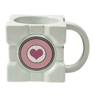 Portal 2 Companion Cube Ceramic Mug - Multi