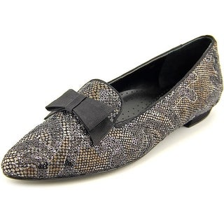 Vaneli Gabbie Women W Pointed Toe Canvas Loafer