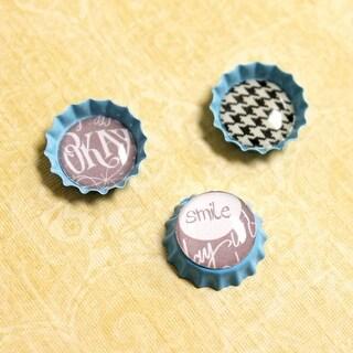 """Vintage Epoxy Dot Clear Stickers .5"""" 24/Pkg-Round - Round"""