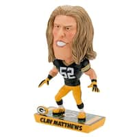 Green Bay Packers Clay Matthews #52 Caricature Bobblehead - multi