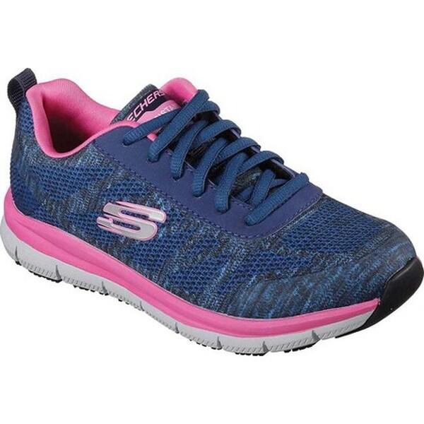 0514234216 Skechers Women  x27 s Work Relaxed Fit Comfort Flex Pro HC SR Sneaker Navy