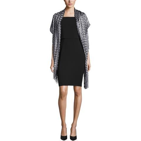 I-N-C Womens Zigzag Wrap - One Size