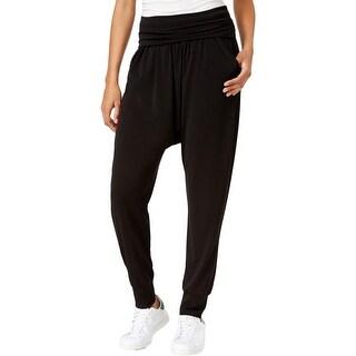 Rachel Rachel Roy Womens Harem Pants Fold-Over Flat Front
