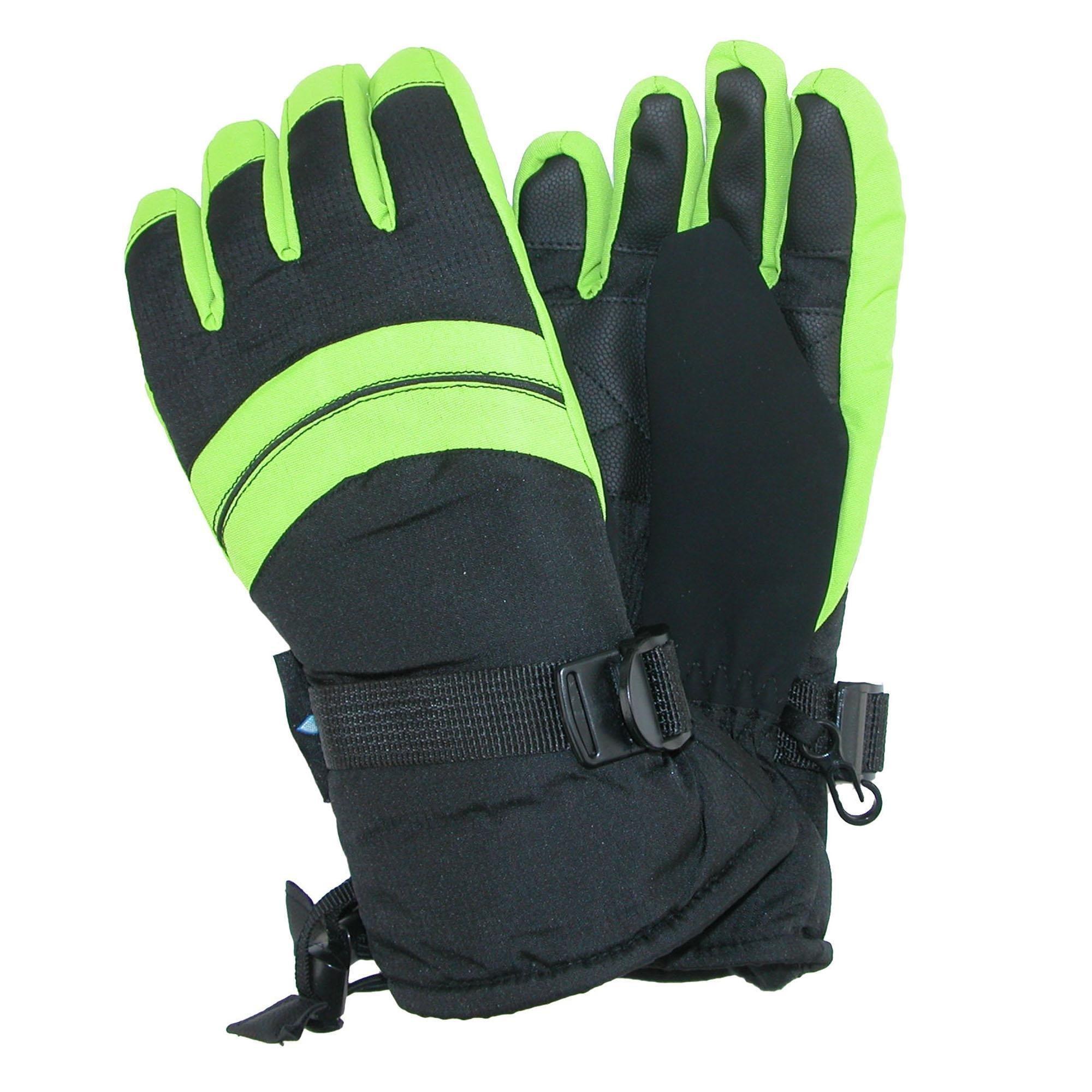 NIce Caps Kids 100 Gram Thinsulate Premier Extended Cuff Ski Snowboard Glove