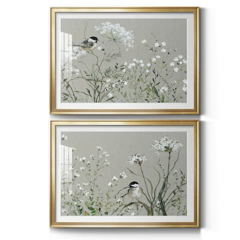 Bouquet of Grace Meadow I Premium Framed Print - Ready to Hang