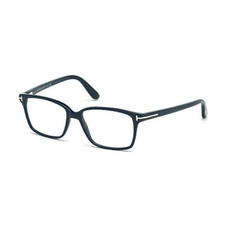 Tom Ford FT5404-F-56A Optics Mens Eyeglasses Dark Blue Frames - Dark blue