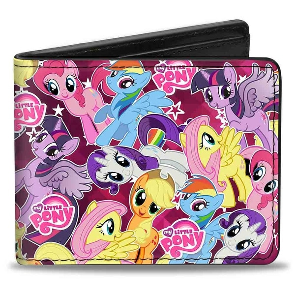 Six Ponies Stacked Fuchsia Bi Fold Wallet - One Size Fits most