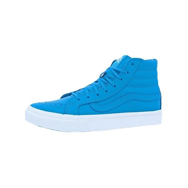9b7b629a44c71d Vans Womens SK8-Hi Slim Neon Skateboarding Shoes High Top Neon - 8.5 medium  (