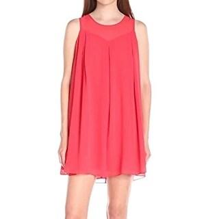 BCBG Generation NEW Coral Pink Womens Size XS Sleeveless Shift Dress