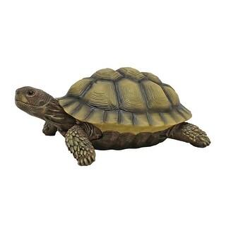 Design Toscano Gilbert, the Box Turtle Statue