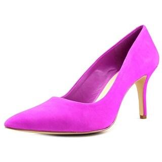 BCBGeneration Gaminkh-X Women Pointed Toe Leather Purple Heels