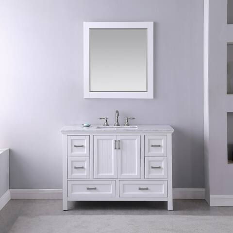Altair Design Isla Single Bathroom Vanity Set with Mirror