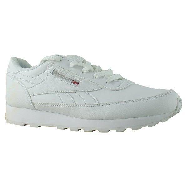 a1e00c8a81fa Shop Reebok Womens V66942 Us-white Steel Fashion Shoes Size 7.5 ...