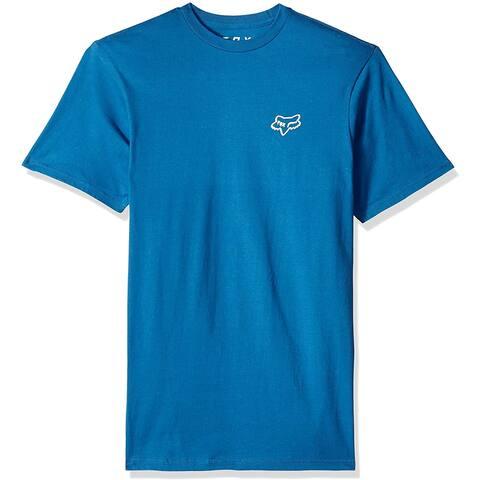 Fox Men's Czar 2.0 Short Sleeve Basic T-Shirt, Blue, M