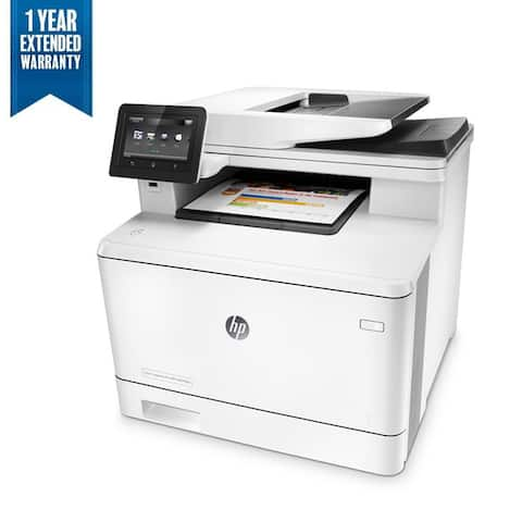 HP Color LaserJet Pro All-in-One Laser Printer Bundle