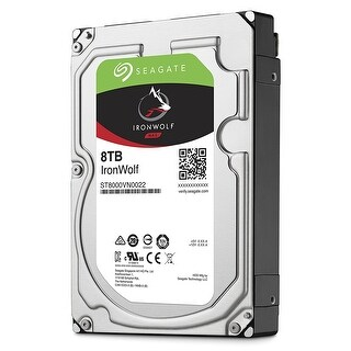 Seagate 8Tb Ironwolf Nas Sata 6Gb/S Ncq 256Mb Cache 3.5-Inch Internal Bare/Oem Hard Drive (St8000vn0022)