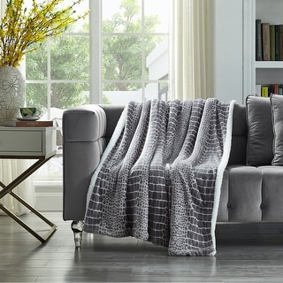 """Link to Johanna 50""""x60"""" Flannel Throw Similar Items in Blankets & Throws"""
