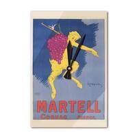 Martell Cognac (Cappiello) 1905 Vintage Ad (Acrylic Wall Clock) - acrylic wall clock