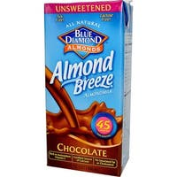 Almond Breeze Almond Milk - Unsweetened Chocolate - Case of 12 - 32 fl oz