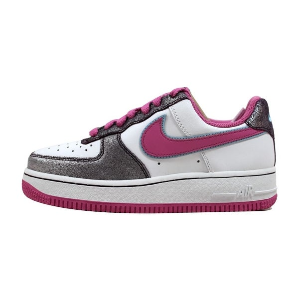 Nike Women's Air Force 1 '07 White/Cool Rose-Aubergine 315115-161