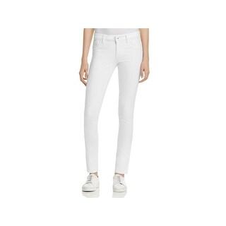 DL1961 Womens Amanda Skinny Jeans Smart Denim Low-Rise