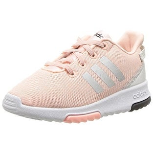 adidas Girls' Racer TR Inf Sneaker,Haze Coral/Metallic Silver/White (5 options available)