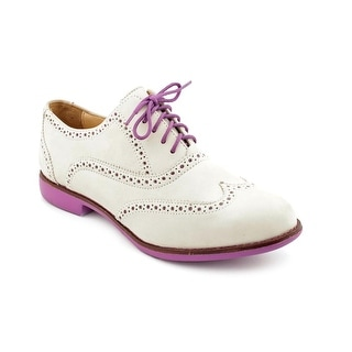 Cole Haan Gramercy Oxford Women Round Toe Leather Oxford