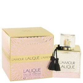 Eau De Parfum Spray 3.3 oz Lalique L'amour by Lalique - Women