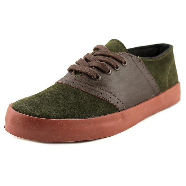 You Must Create YMC PFAI6 Women Suede Green Fashion Sneakers