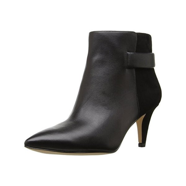 Nine West Womens Jaison Booties Leather Pointed Toe