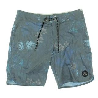 Quiksilver Mens Floral Print Drawstring Board Shorts - 32|https://ak1.ostkcdn.com/images/products/is/images/direct/732dabb698254cdbf9de10ff27975561d5d5dcc8/Quiksilver-Mens-Floral-Print-Drawstring-Board-Shorts.jpg?impolicy=medium