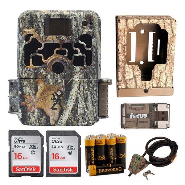 Shop Browning Dark Ops Trail Game Camera (Camo) with Security Box and Accessory Kit - Camouflage Free Shipping Today Overstock.com 21039964