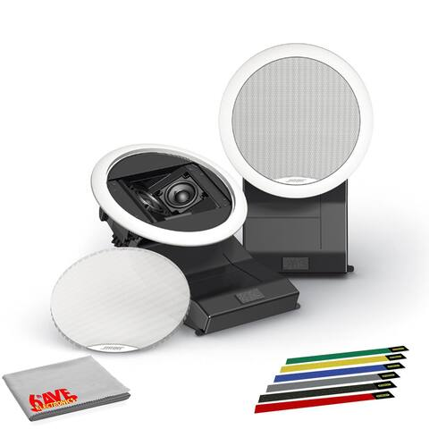 Bose Virtually Invisible 191 Speakers (Pair) Premium Bundle