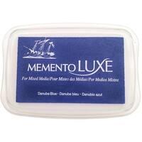 Memento Luxe Ink Pad-Danube Blue