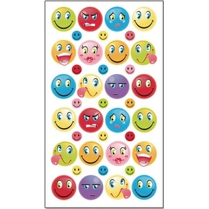 Sticko Stickers-Birthday Faces