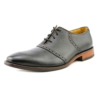 Cole Haan Williams CSUL.SDL.II Men Round Toe Leather Black Oxford