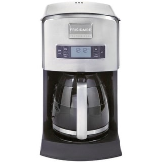 Frigidaire FPAD12D7PS Professional Coffee Maker, Stainless Steel
