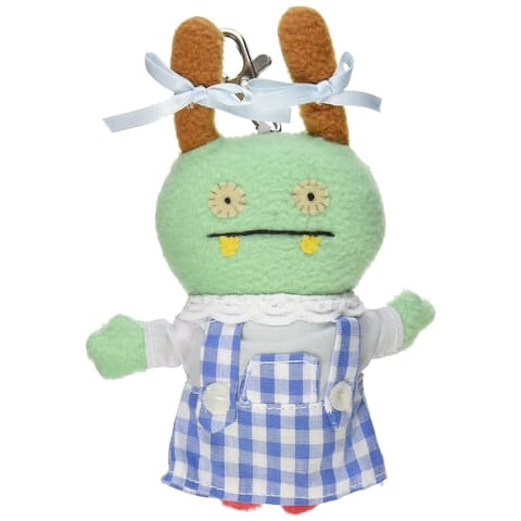 "Ugly Dolls Wizard of Oz 5"" Plush Clip-On: Moxy as Dorothy - multi"
