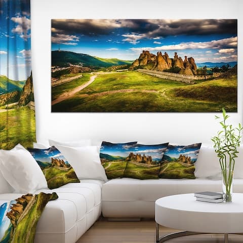Designart 'Belogradchik Fortress and Cliffs' Landscape Canvas Art Print