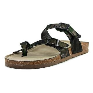 Madden Girl Bryceee Women Open Toe Synthetic Slides Sandal|https://ak1.ostkcdn.com/images/products/is/images/direct/7337298c9f43c4eeef15448966b575718d740d4c/Madden-Girl-Bryceee-Women-Open-Toe-Synthetic-Green-Slides-Sandal.jpg?impolicy=medium