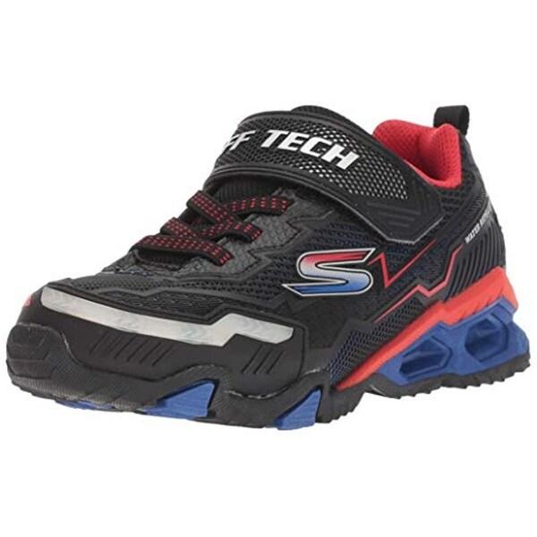 Skechers Kids Boys' Hydro Lights Sneaker, NavyYellow, 12 Medium Us Little Kid