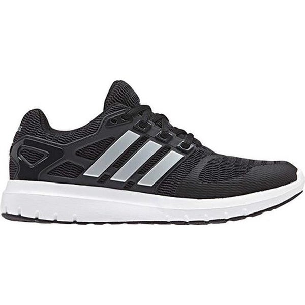 be22f98a102e Shop adidas Women s Energy Cloud V 2-Tone Lenticular Mesh Running Shoe Core  Black Matte Silver Carbon - On Sale - Free Shipping Today - Overstock -  23157713