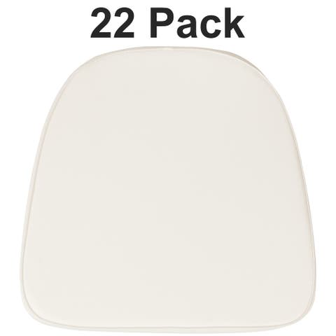 22 Pack Soft Fabric Chiavari Chair Cushion