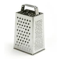"""Norpro 339 Stainless Steel Grater, 4 Sided, 8.5"""""""