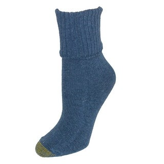 Gold Toe Women's Turn Cuff Bermuda Socks (3 Pair Pack)