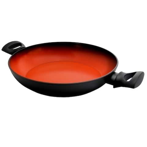 Tosca Terra-Cotta 3 Quart Aluminum Braiser Pan