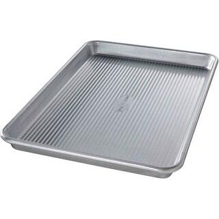 "USA Pans 1040JR Aluminized Steel Jelly Roll Pan, 14.75"" X 9.75"""