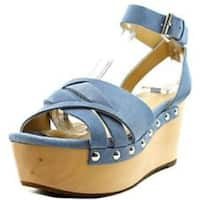Marc Fisher Womens camilla Open Toe Casual Platform Sandals